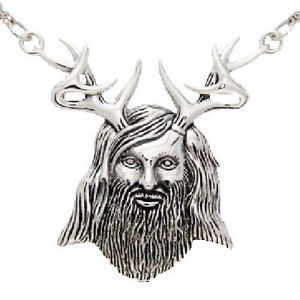 Herne the Hunter Pendant - Silver