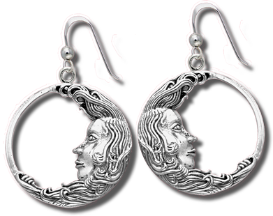 Luna Earrings - Silver