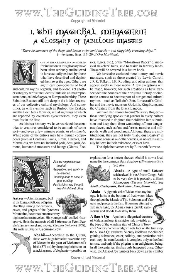A Wizards Bestiary