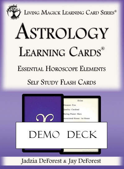 Demo Deck - Astrology Learning Cards