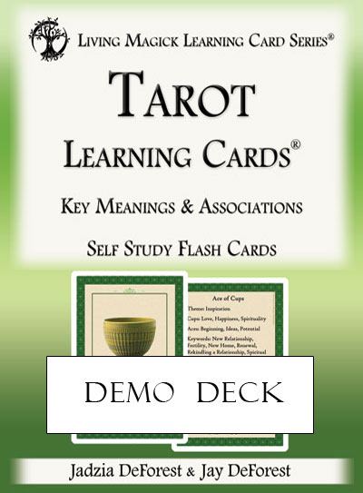 Demo Deck - Tarot Learning Cards