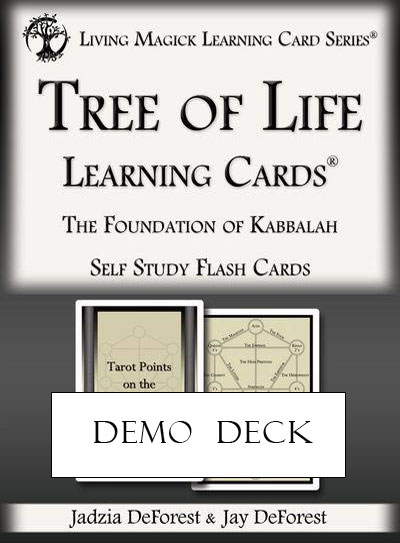 Demo Deck - Tree of Life Learning Cards