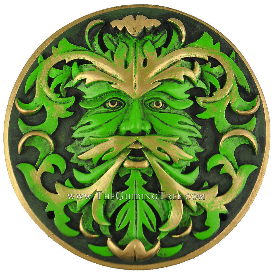 Green Man - Green - See listing for details