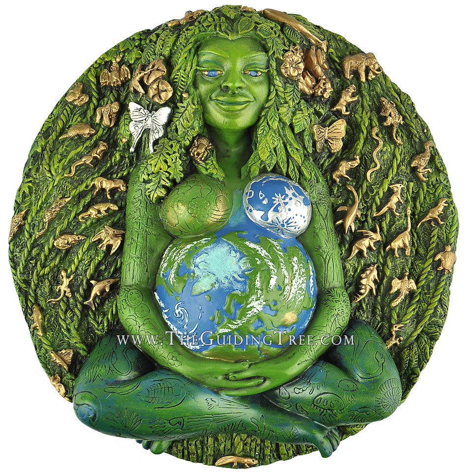 Millennial Gaia - Mother Earth Plaque